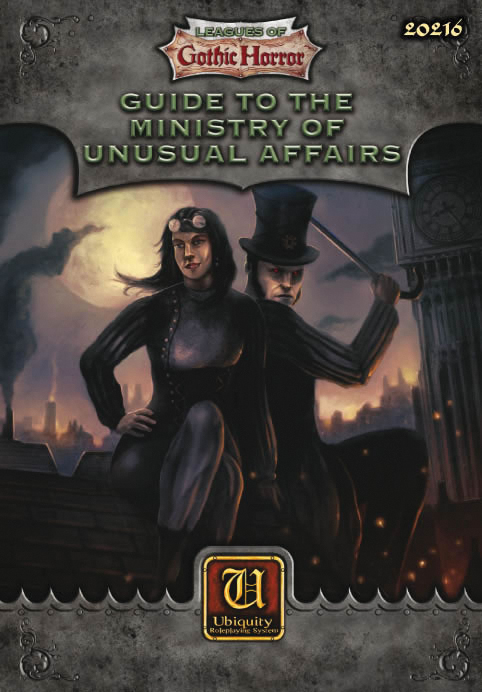 Guide To The Ministry Of Unusual Affairs Box Front