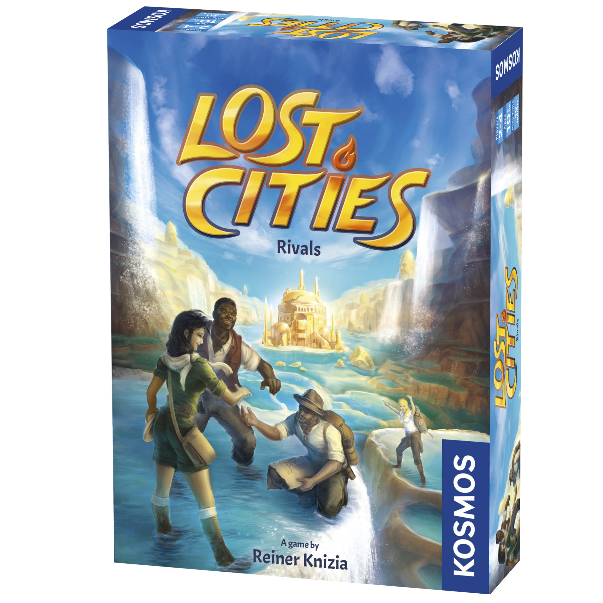 Lost Cities: Rivals Box Front
