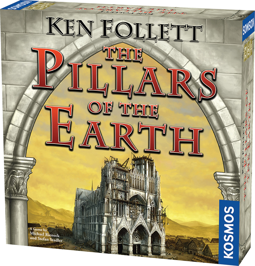 The Pillars Of The Earth: The Game Box Front