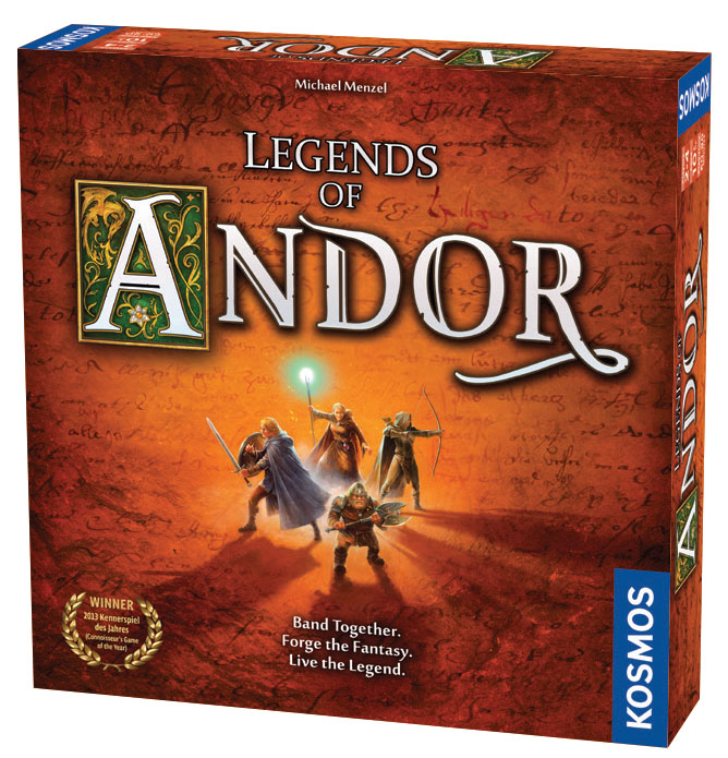 Legends Of Andor Box Front