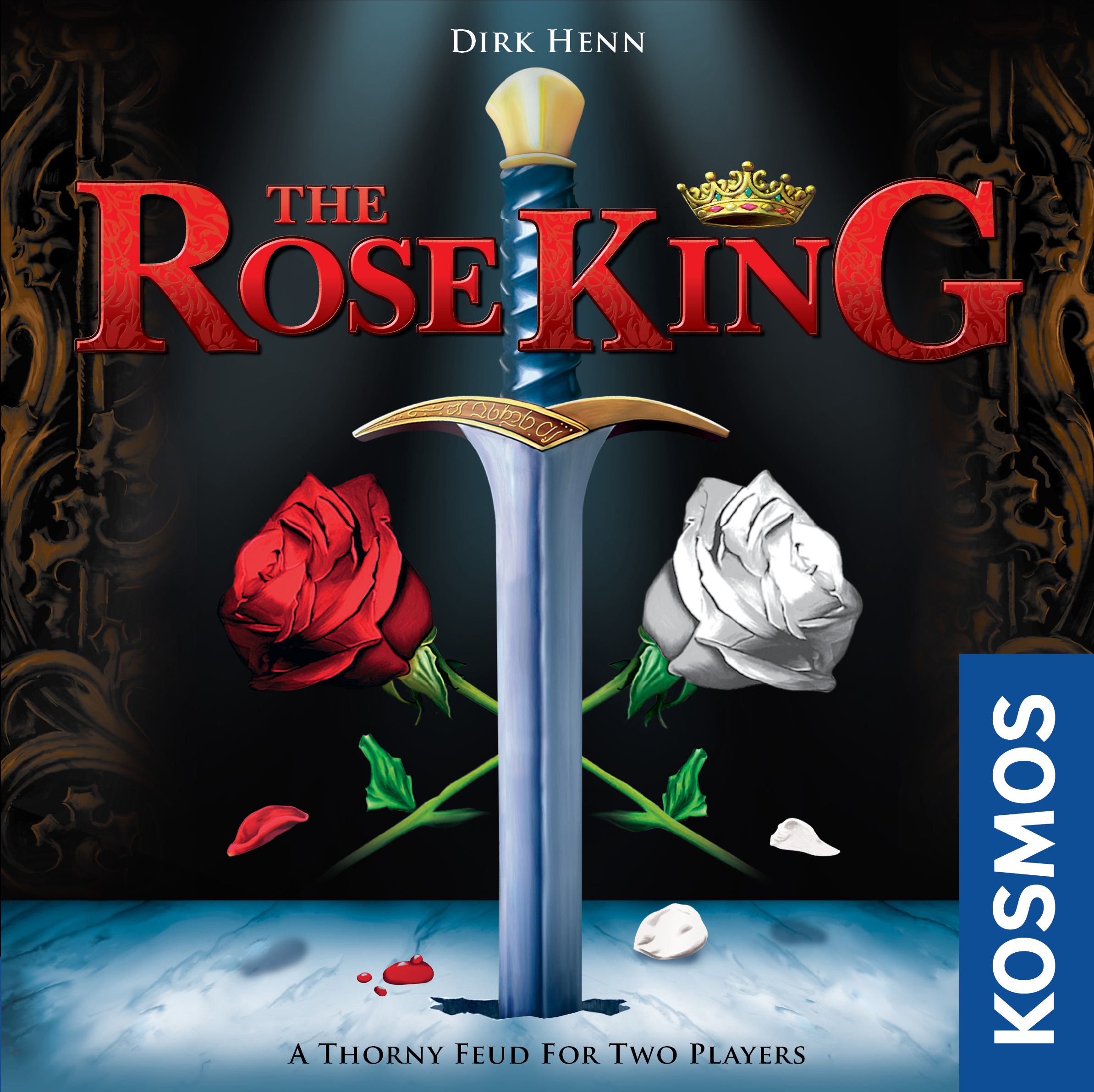 The Rose King Box Front