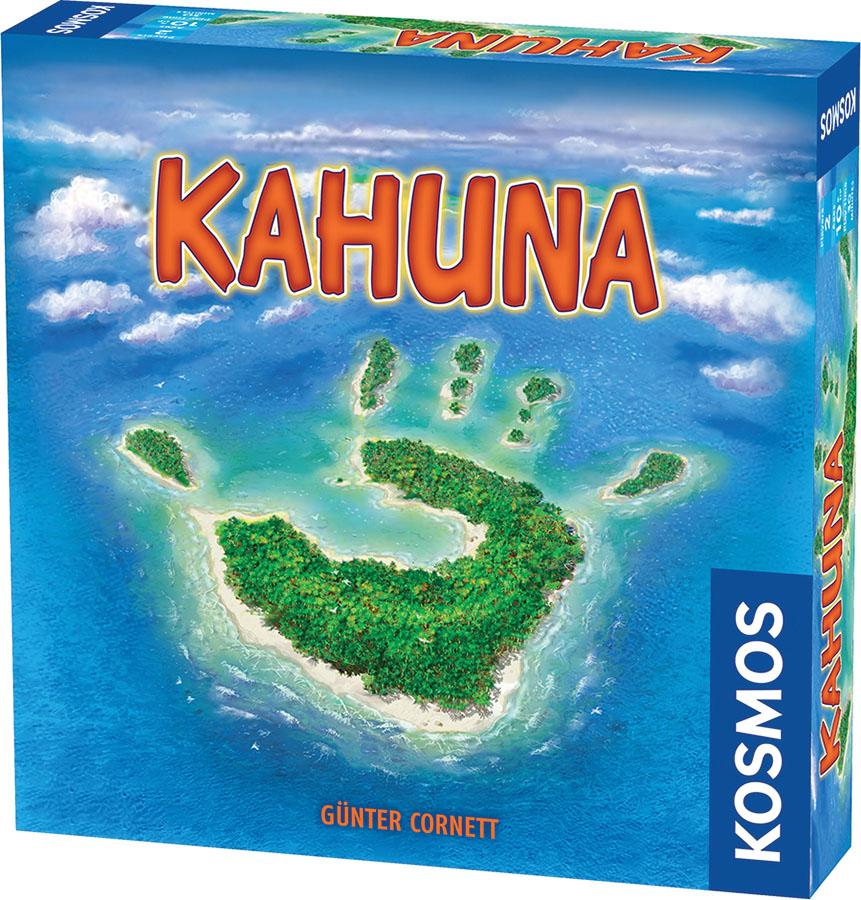 Kahuna (2-player) Box Front