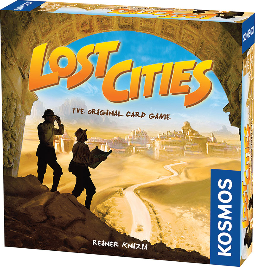 Lost Cities - The Card Game Box Front