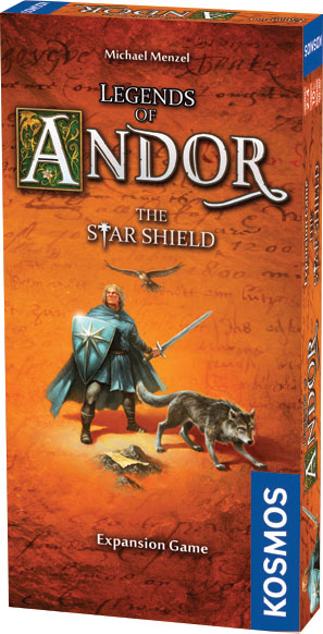 Legends Of Andor: The Star Shield Expansion Box Front