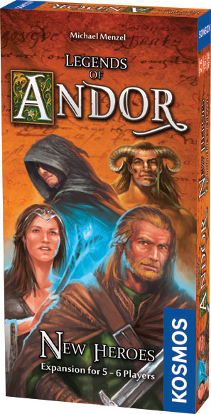 Legends Of Andor: New Heroes Expansion Box Front