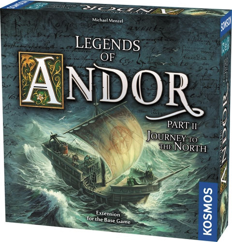 Legends Of Andor: Journey To The North Expansion Box Front