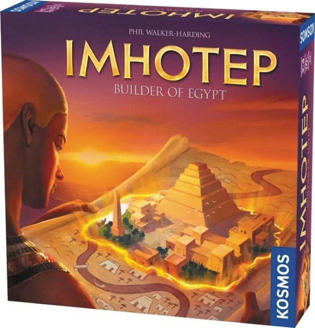 Imhotep Box Front