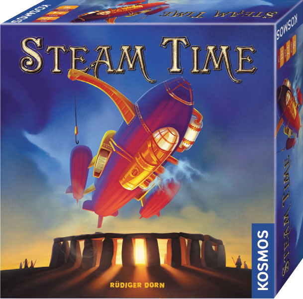 Steam Time Box Front