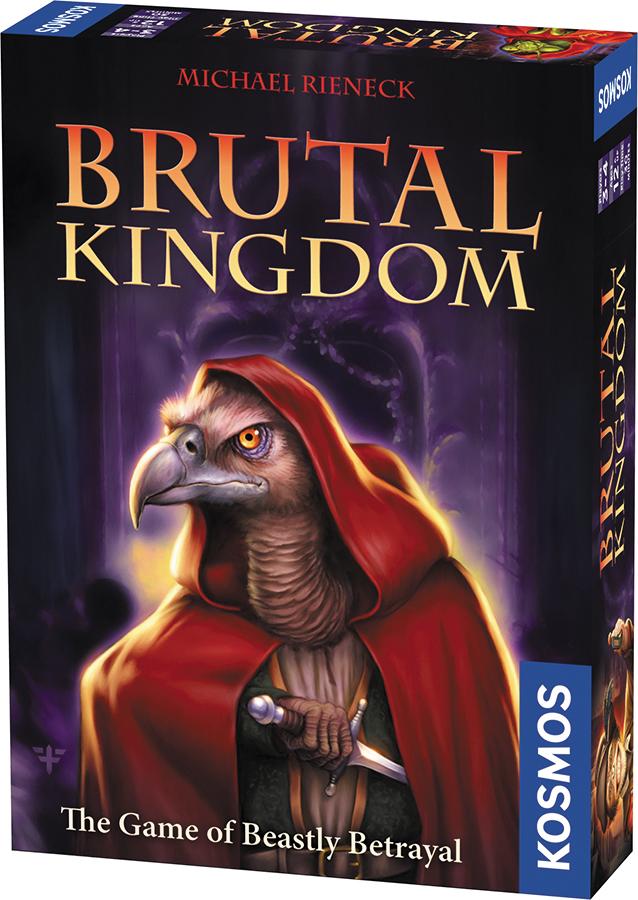 Brutal Kingdom Box Front