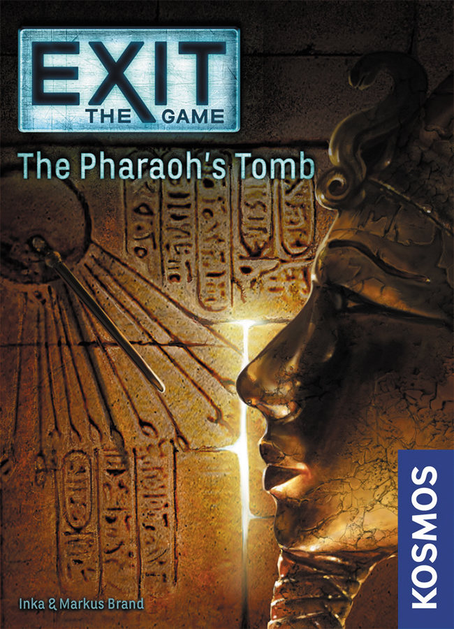 Exit: The Pharaoh`s Tomb Box Front