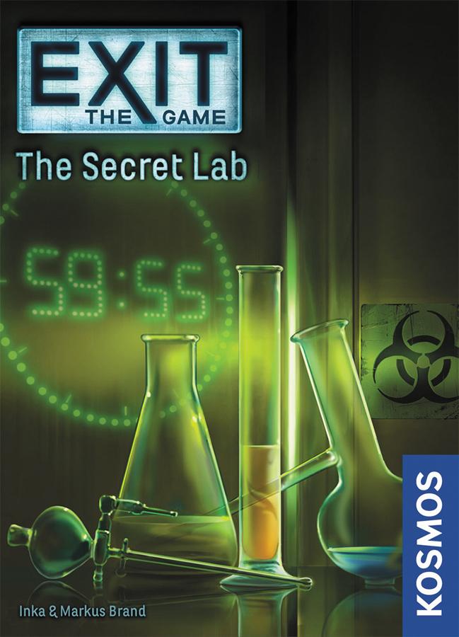 Exit: The Secret Lab Box Front