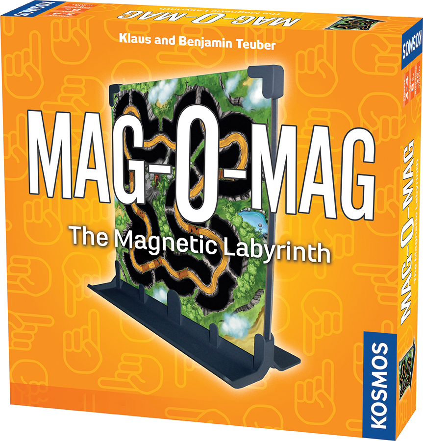 Mag-o-mag: The Magnetic Labyrinth Box Front