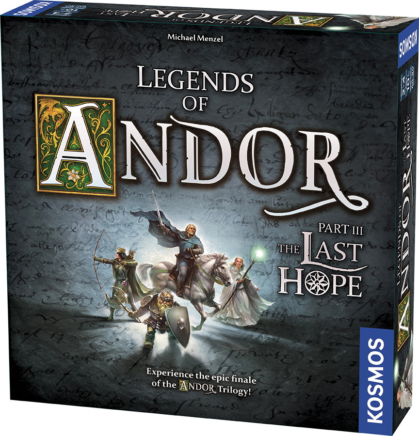 Legends Of Andor: Part Iii - The Last Hope (stand Alone) Box Front
