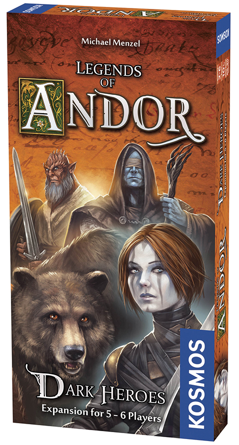 Legends Of Andor: Dark Heroes (expansion Pack) Box Front