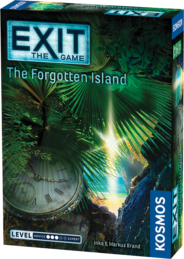Exit: The Forgotten Island Box Front