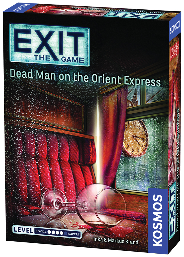 Exit: Dead Man On The Orient Express Box Front