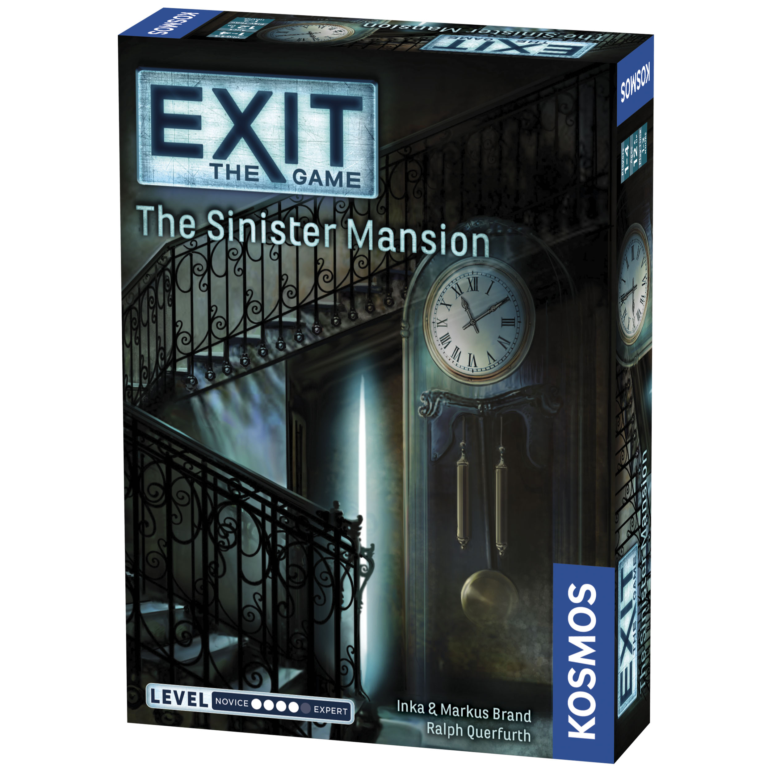 Exit: The Sinister Mansion Box Front