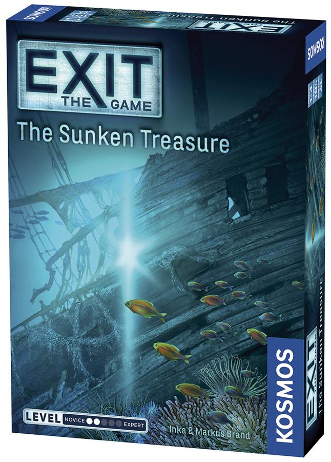 Exit: The Sunken Treasure Box Front