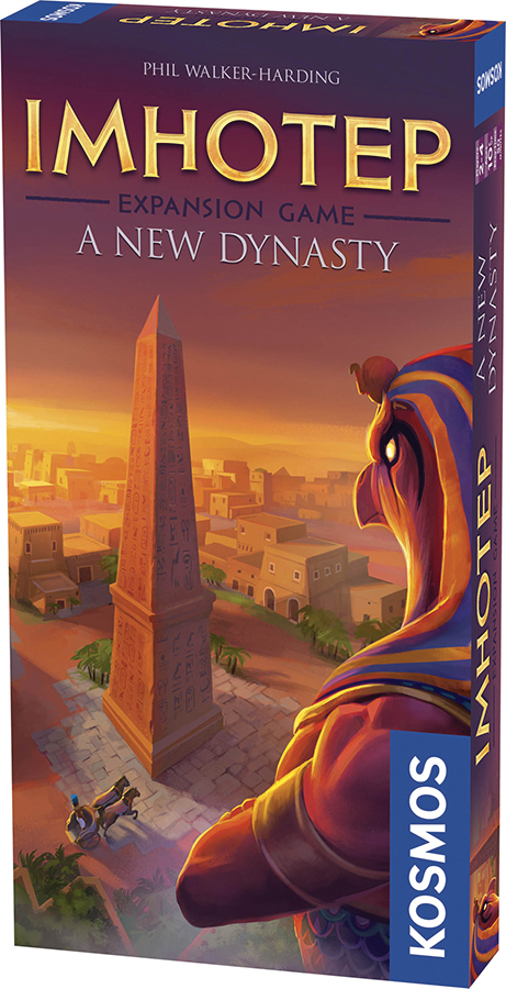Imhotep: A New Dynasty Expansion Pack Box Front
