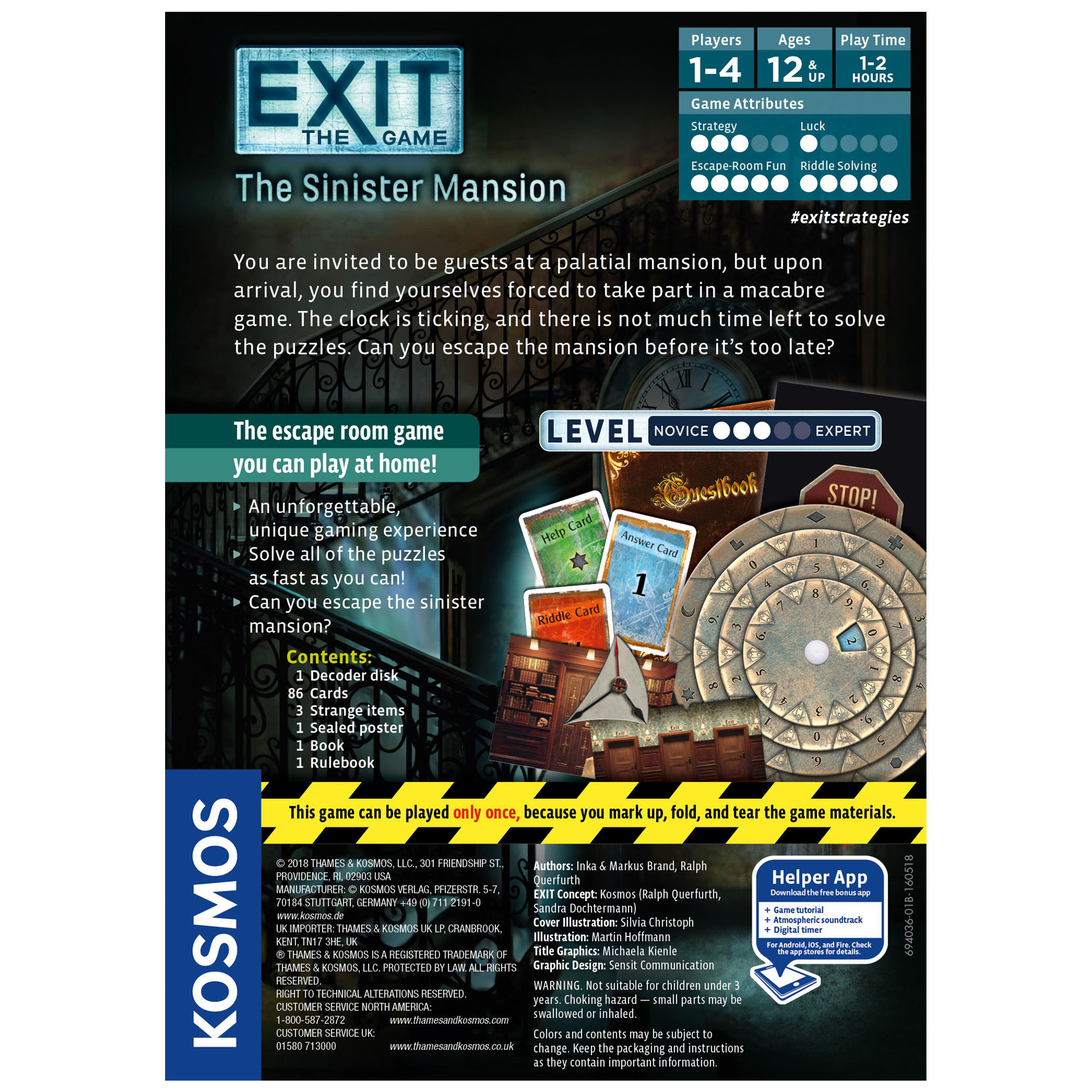 Exit: The Mysterious Museum Box Front