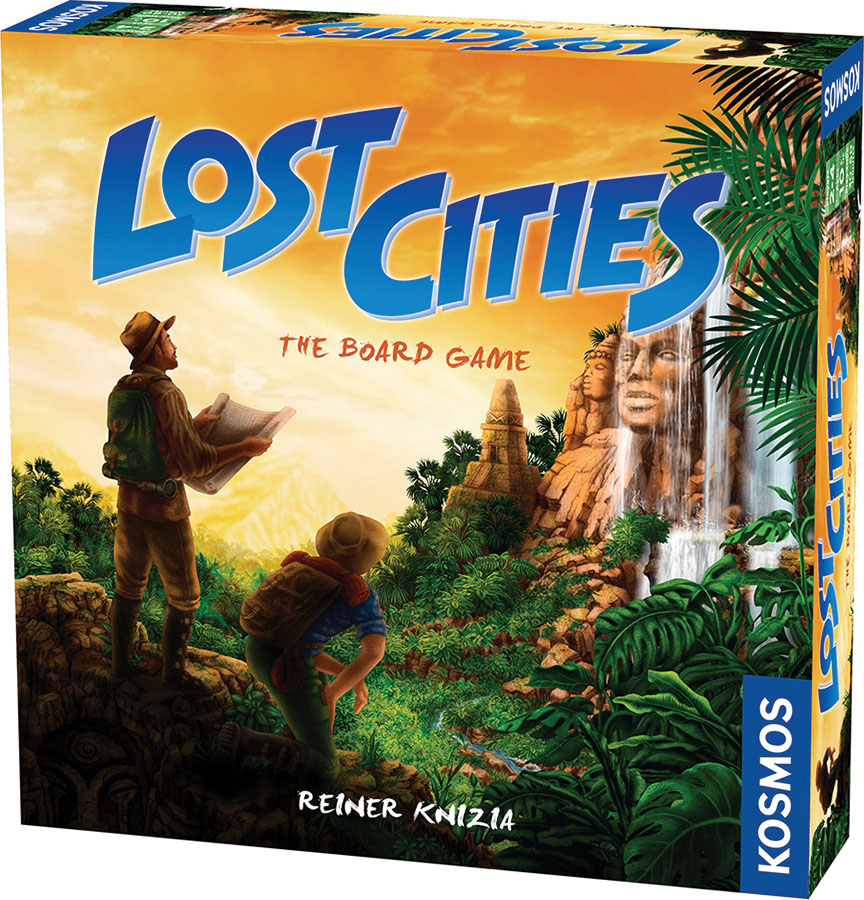 Lost Cities - The Board Game Box Front