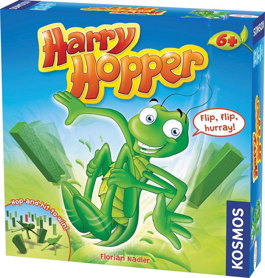 Harry Hopper Box Front