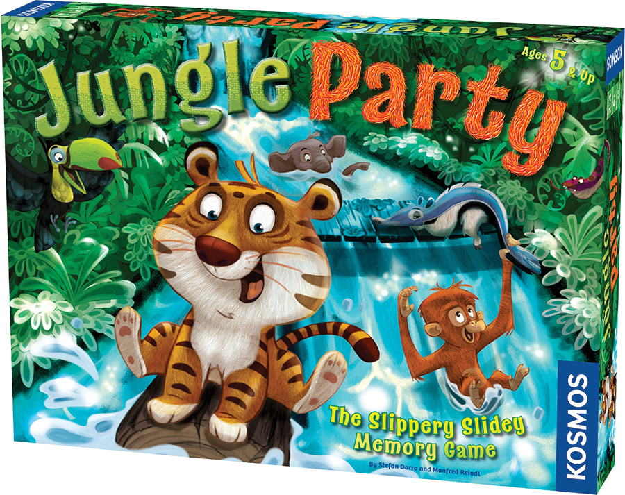 Jungle Party Box Front