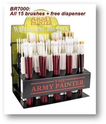 Brush Series Full Dispenser (15 Different/160 Pcs) Box Front