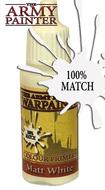 Warpaints: Matt White 18ml Box Front