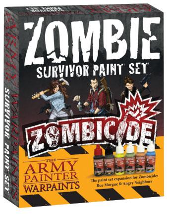 Warpaints: Zombicide Survivor Paint Set Box Front