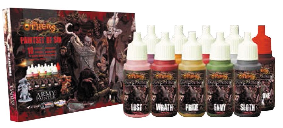 Warpaints: The Others Paint Set Of Sin Box Front