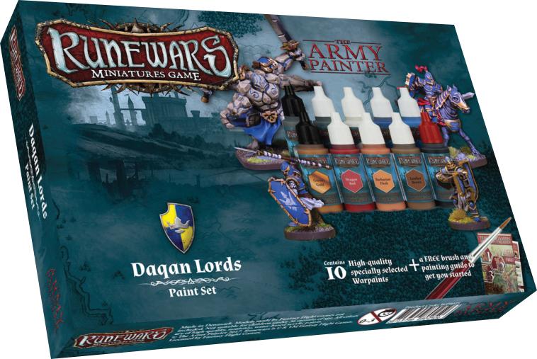 Runewars: Daqan Lords Paint Set Box Front