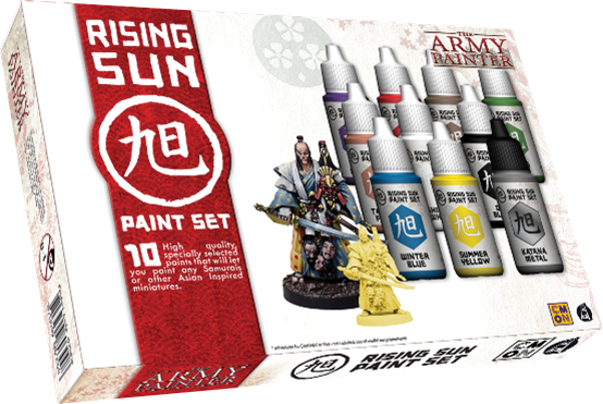 Warpaints: Rising Sun Paint Set Box Front