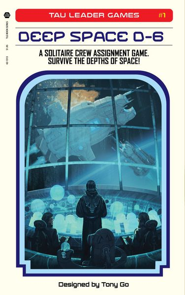 Deep Space D-6 Game Box