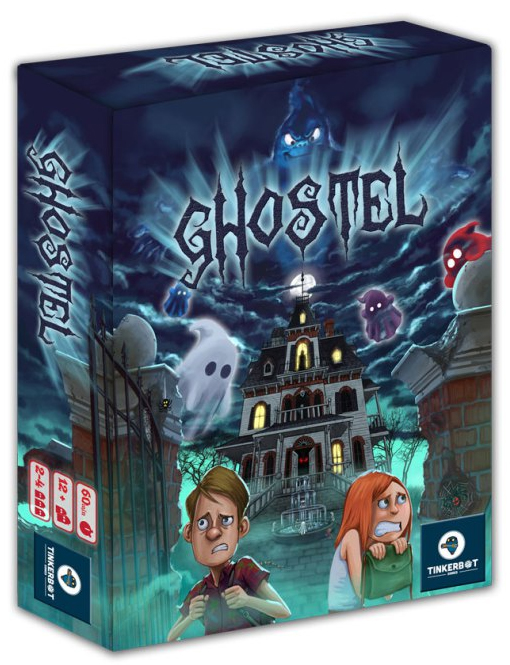 Ghostel Box Front