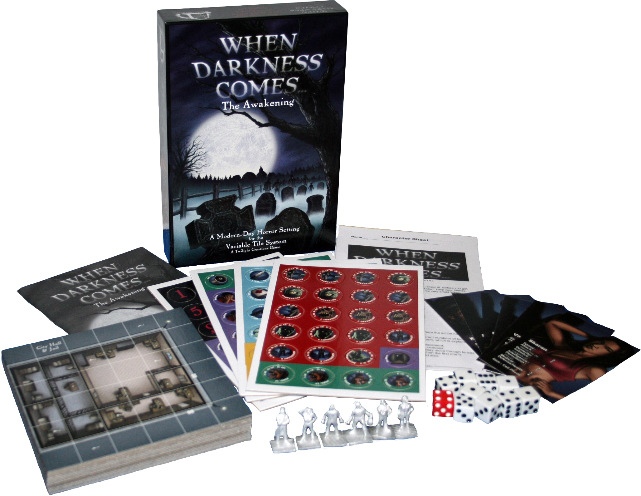 When Darkness Comes: The Awakening Box Front