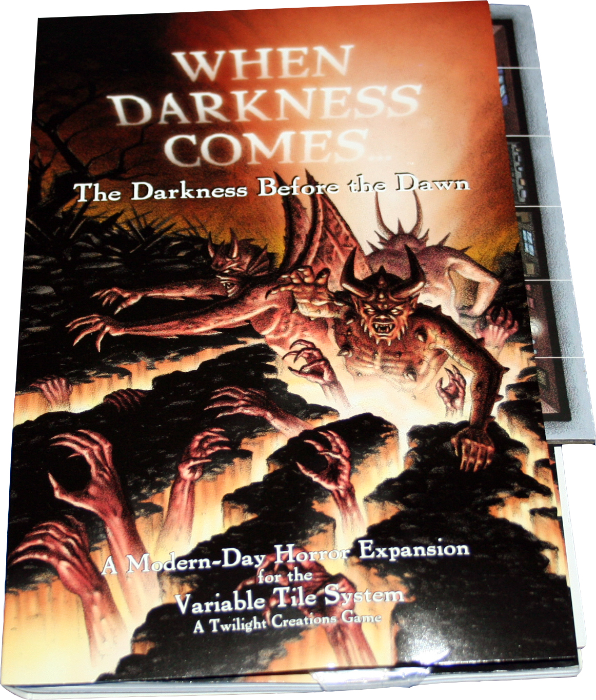 When Darkness Comes: The Darkness Before The Dawn Box Front
