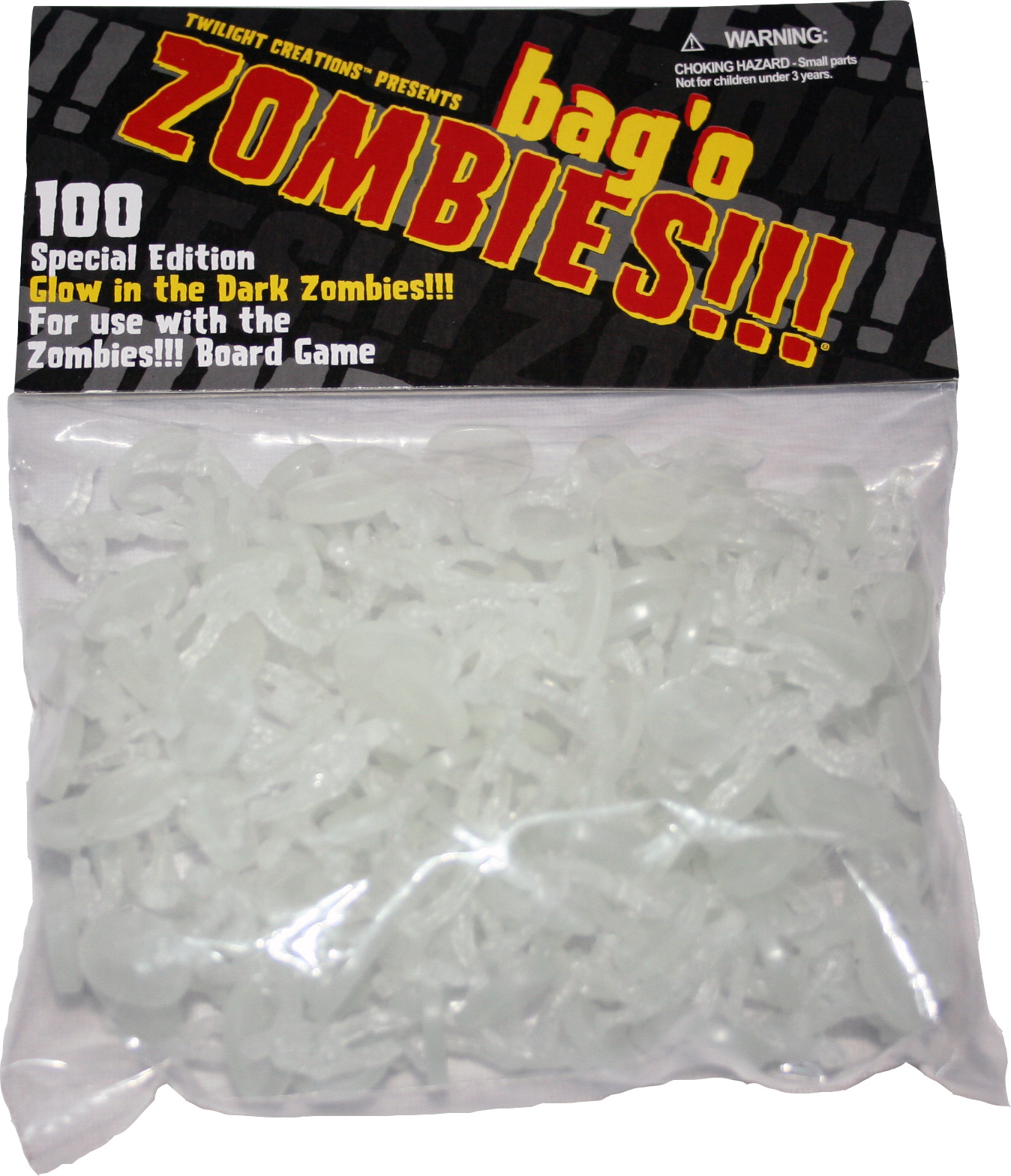 Zombies!!!: Bag O Zombies (glow-in-the-dark) Box Front