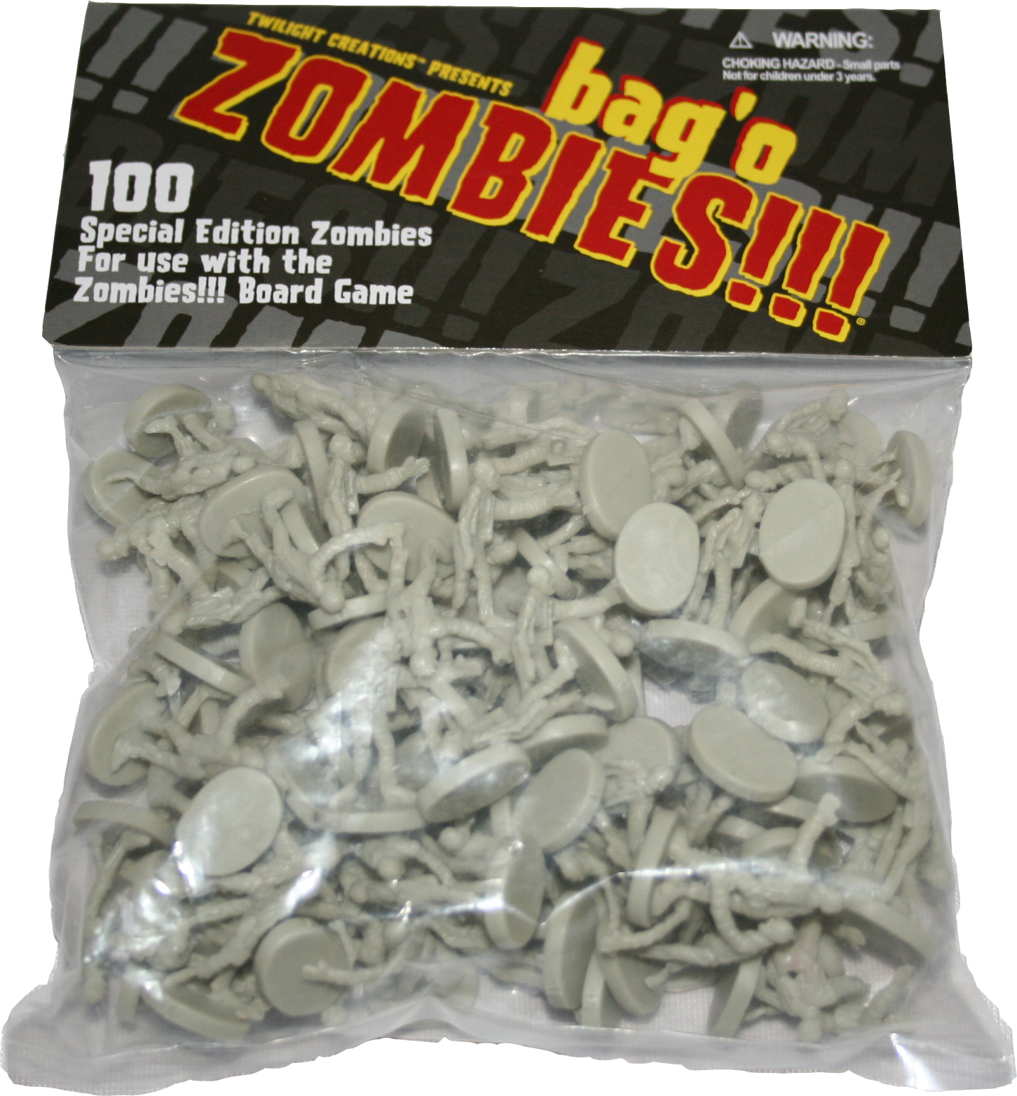 Zombies!!!: Bag O Zombies (plastic) Box Front