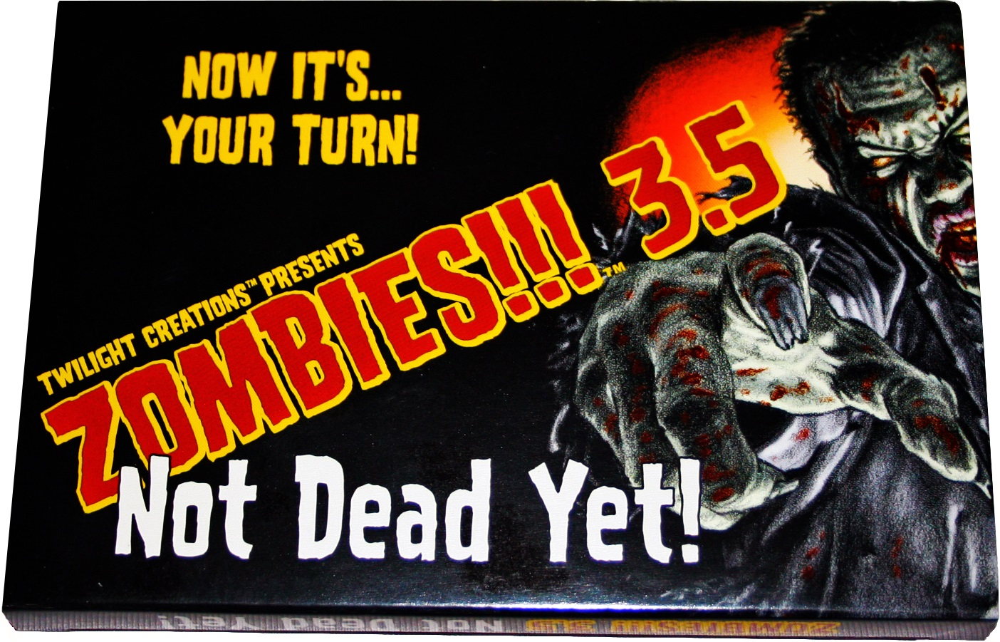 Zombies!!!: 3.5 - Not Dead Yet Box Front