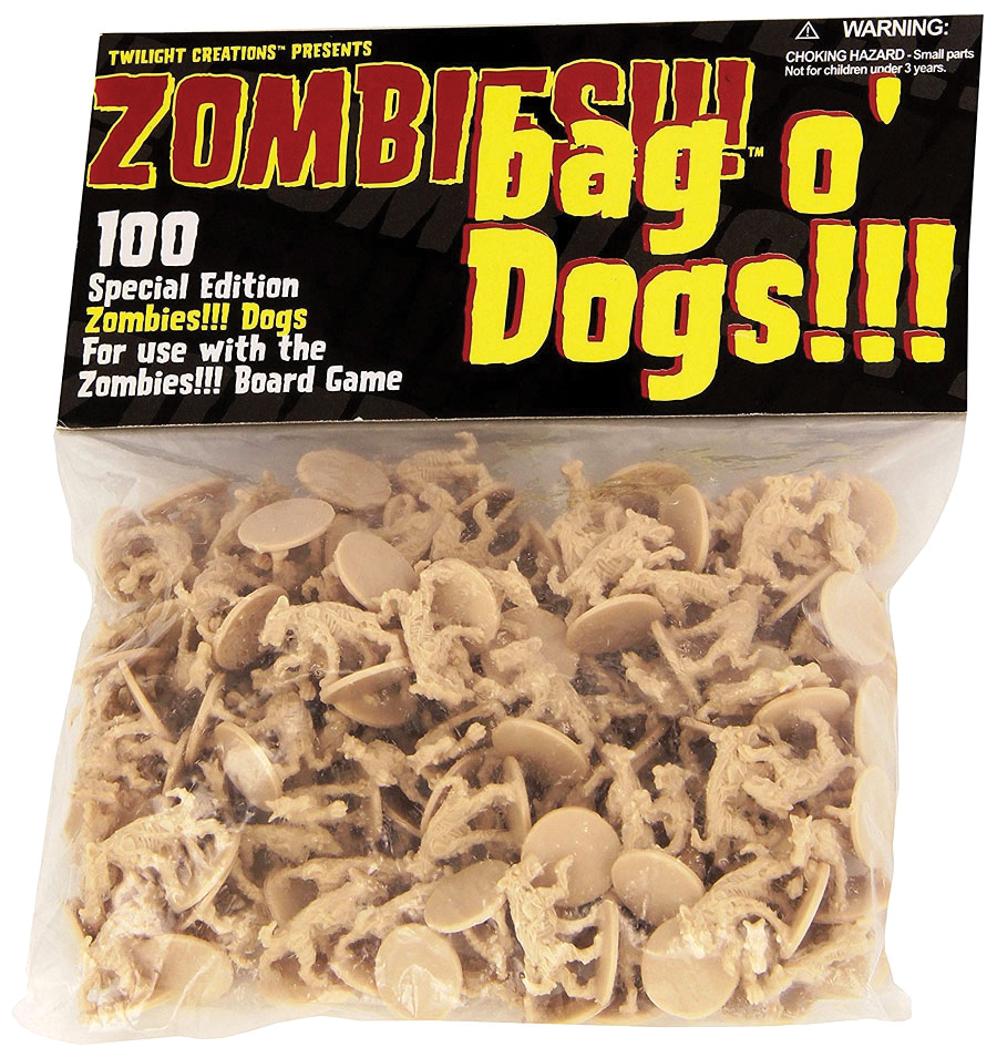 Zombies!!!: Bag O Zombies - Dogs Box Front