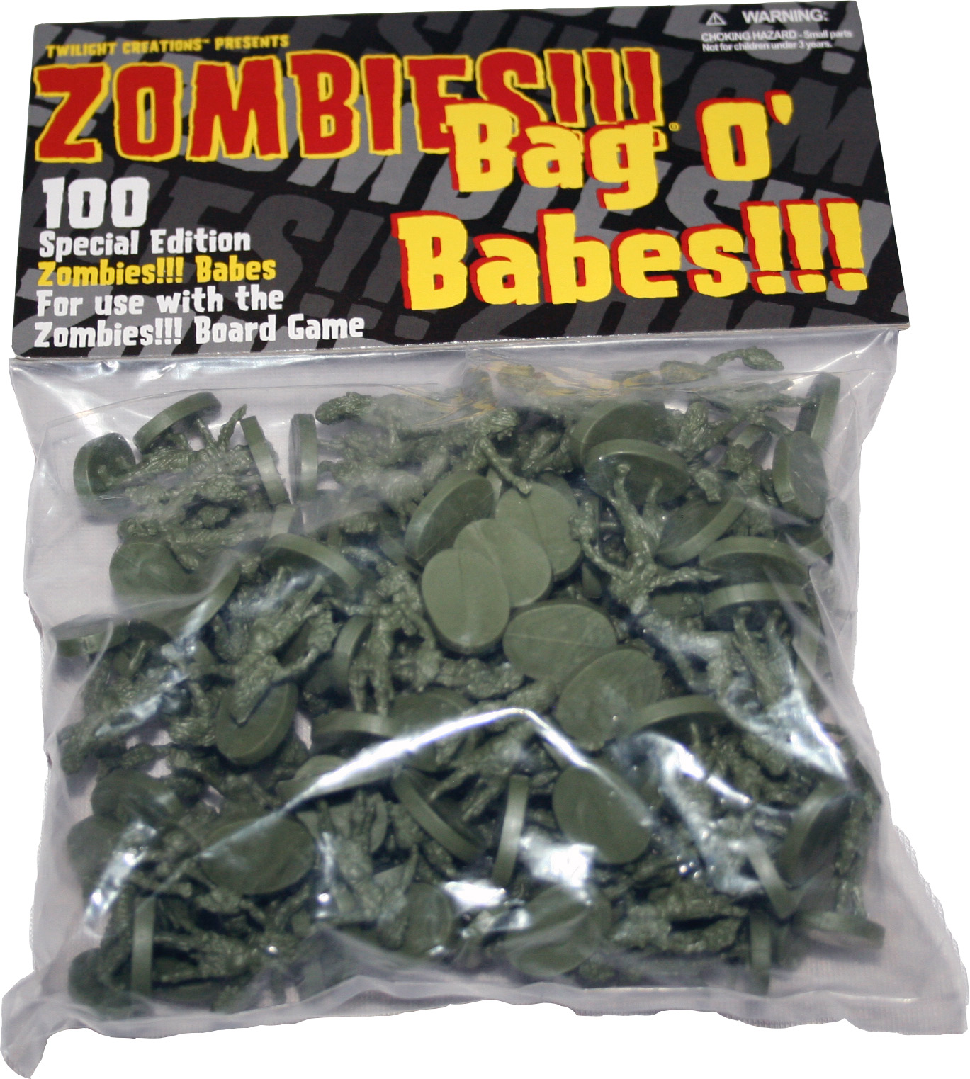 Zombies!!!: Bag O Zombies - Babes Box Front