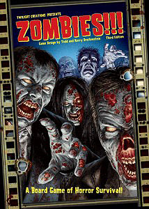 Zombies!!!: 3rd Edition Box Front