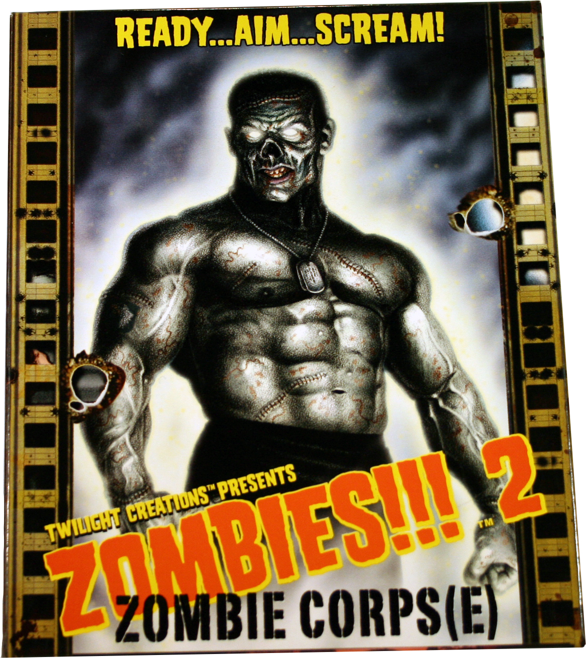 Zombies!!!: 2 - Zombie Corps(e) 2nd Edition Box Front