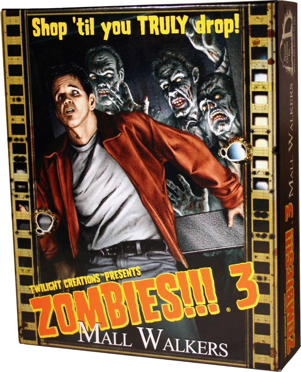 Zombies!!!: 3 - Mall Walkers 2nd Edition Box Front