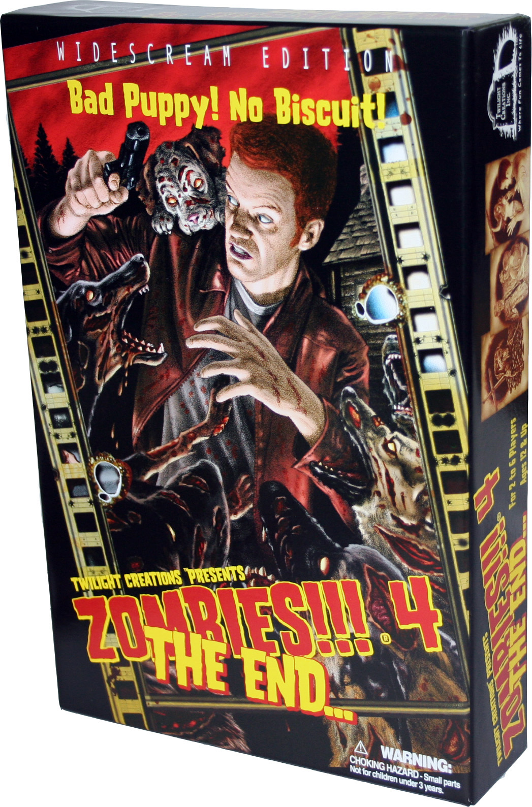 Zombies!!!: 4 - The End (2nd Edition) Box Front