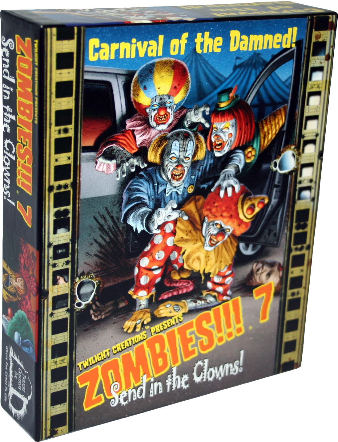 Zombies!!!: 7 - Send In The Clowns Box Front