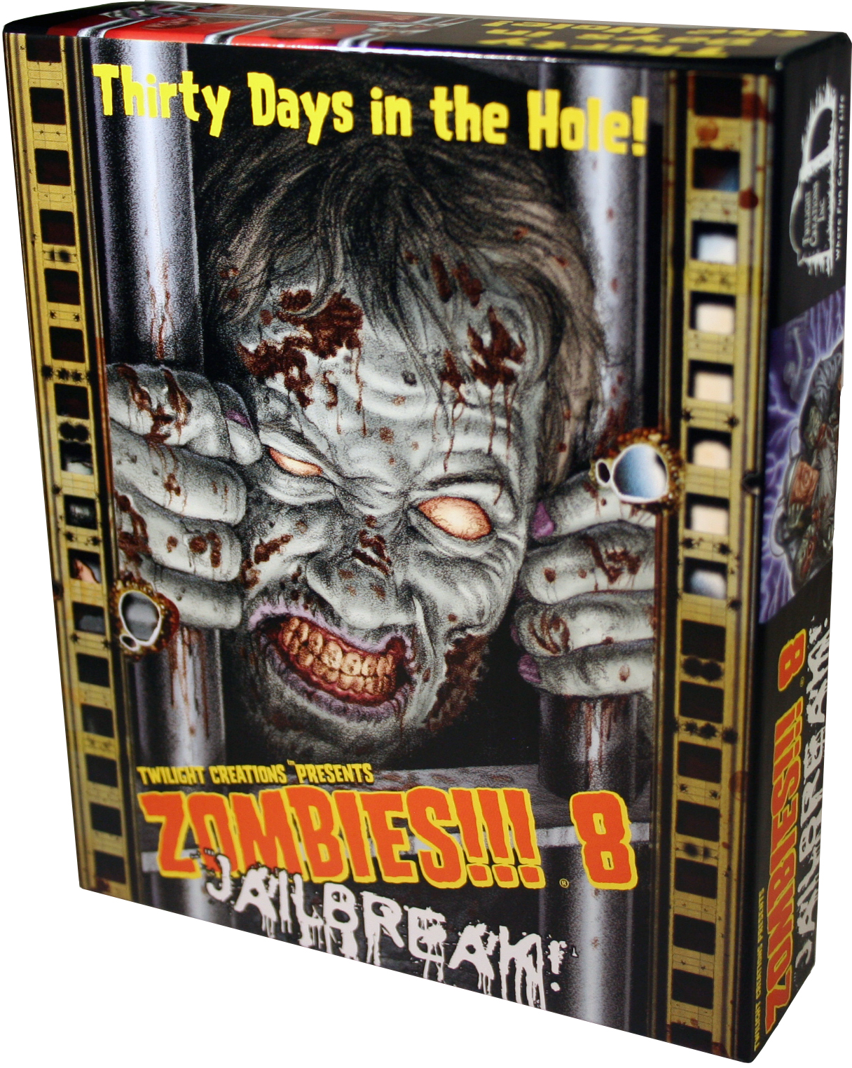 Zombies!!!: 8 - Jailbreak Box Front
