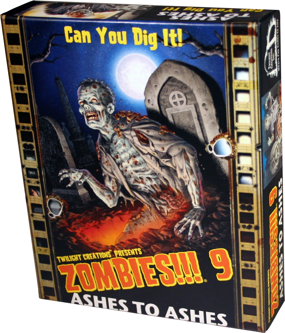 Zombies!!!: 9 - Ashes To Ashes Box Front