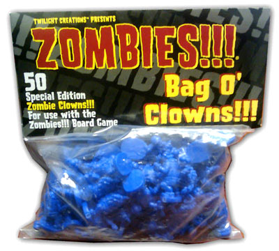 Zombies!!!: Bag O Zombies - Clowns Box Front